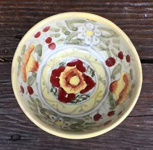 Talavera-Pottery-Salsa-Bowl-Salsa-Serving-Dish-Relish-Condiment-Bowl