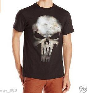 a233e475e8416 100% cotton Marvel The Punisher Men s Clothes Clothing No Sweat T ...