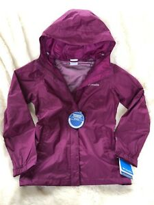distinctive style footwear pretty nice Details about NWT $90 COLUMBIA ARCADIA II RAIN JACKET PURPLE SMALL S