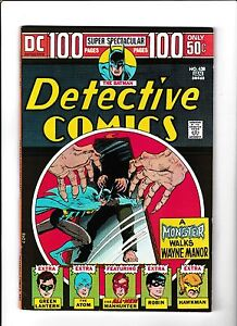 DETECTIVE-COMICS-438-1974-FN-100-PAGE-ISSUE-034-A-MONSTER-WALKS-WAYNE-MANOR-034