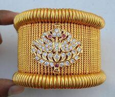 22k ANTIQUE TRIBAL OLD GOLD ARMLET BAJUBAND BRACELET