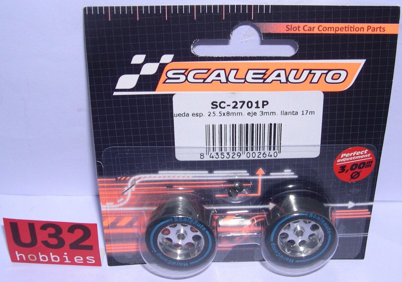 SCALEAUTO SC-2701P WHEEL FOAM 1x0 5 16in RIM 0 21 32in AXIS 0 1 8in LIGHTENED