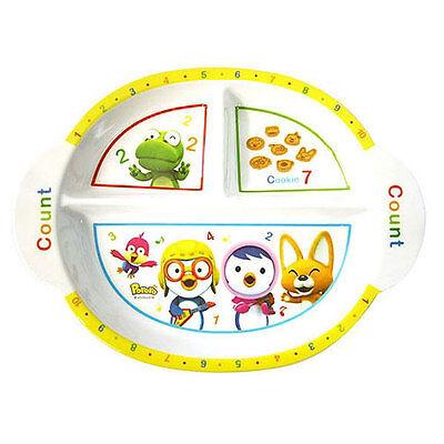 Pororo melamine oval dish / Pororo oval tray / Pororo snack bowl (standard)