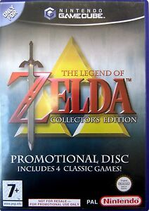 the legend of zelda collectors edition gamecube game pal 45496391720