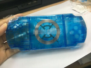 Transparent-Blue-For-PSP-1000-2000-3000-Consoles-Repair-Housing-Shell-Cover-Case