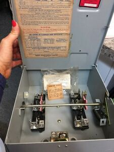 underwriters laboratories inc federal pacific electric co fuse box (178) |  ebay  ebay