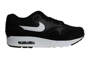 Details about Mens NIKE AIR MAX 1 Black Trainers AH8145 014