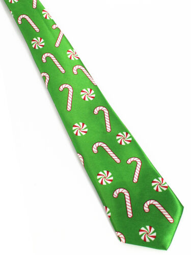 30 Mens Christmas Neck Tie Santa Gift Xmas Fancy Snowman Office Present Novelty