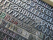 Letterpress Lead Type 48 Pt Cheltenham Bold Extended Atf 72 A15