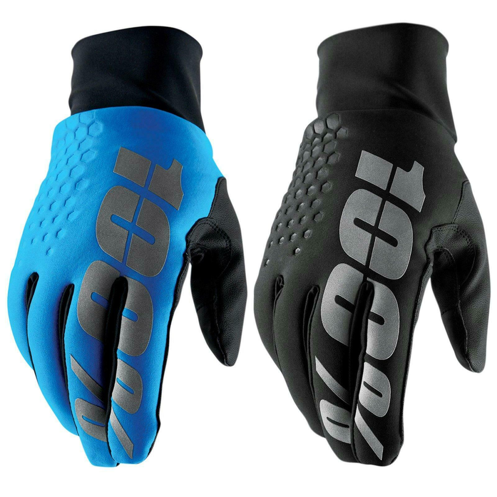 100% Prozent Hydromatic Brisker Handschuhe MTB Wasserdicht Mountain Bike DH FR