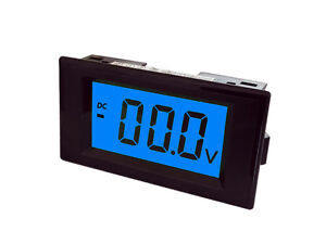 Digital Amp Meter Panel : Dc 0 199.9ma 200ma digital panel amp current meter ammeter