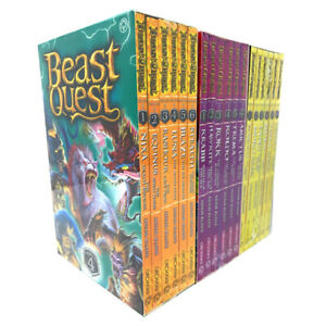 Beast-Quest-Series-4-5-and-6-Collection-Adam-Blade-18-Books-Set-Brand-New-Cover