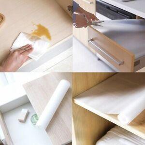 Details about Clear EVA Waterproof Kitchen Shelf Drawer Liner Cupboard  Cabinet Non Slip Mat