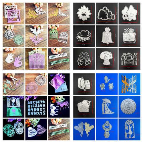 New Metal Cutting Dies Scrapbook Embossing Die Stencils Album Decor Card Craft