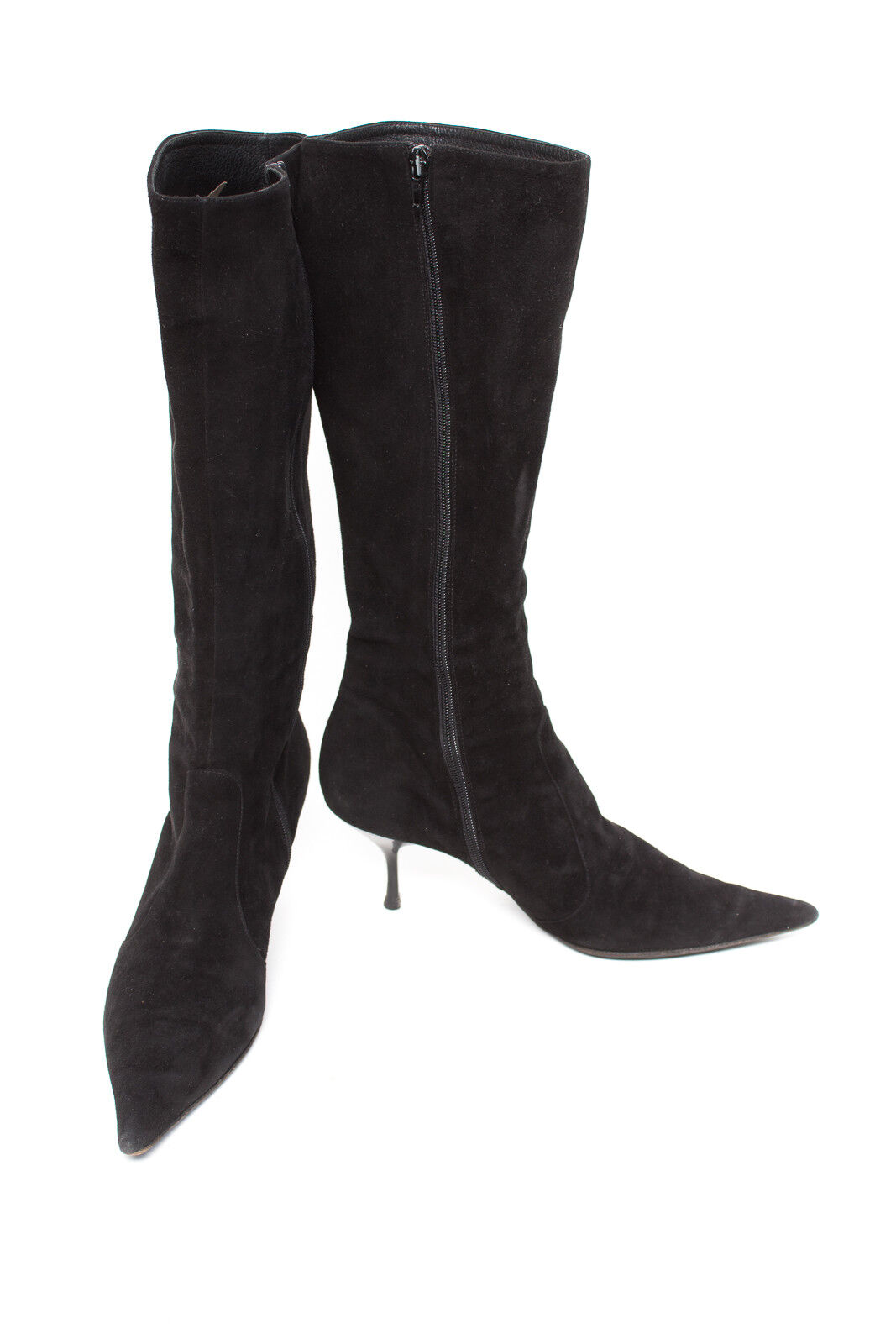 VERGELIO Damen Schuhe Stiefel Gr. EUR 40 Leder Schwarz