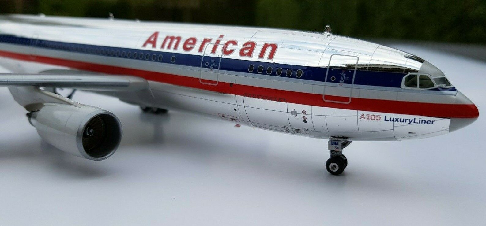 Herpa Premium 1 200 American Airlines Airbus a300-600 SUPER RARE 016353 Top