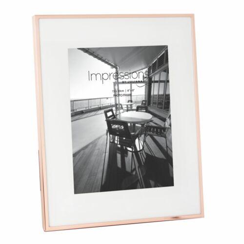 6x8/' Impressions de cuivre plaqué étroite bordée de cadre