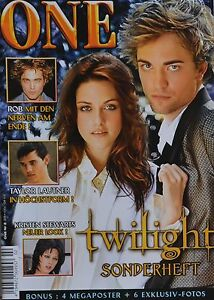 TWILIGHT-ONE-Magazin-02-2009-XXL-Poster-Sonderheft-Clippings-Fan-Sammlung