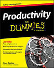 Productivity For Dummies by Wiley, Ciara Conlon (Paperback, 2016)