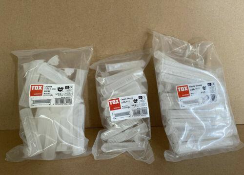 Größen TOX Liquix Sleeve Siebhülsen Dübel Liquix 1 Pro 16//85 16//130 20//85 div