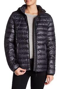 Hooded Lightweight Gerry Down Jacket Black Medium Nwt 140 Stat HS4gwxw