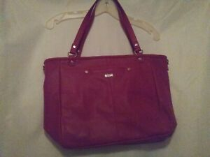 Details About Jewell By Thirty One Purple Pebble Shoulder Bag Tote New