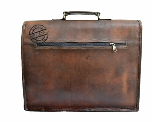 Vintage Real 15 16 Business Inches 17 Messenger Bag 18 Laptop Leather Men s  XgXYq4 21d03b4706de7