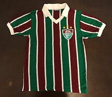 Rare Vintage 80's Campea Brazil Fluminense Futbol Soccer Jersey