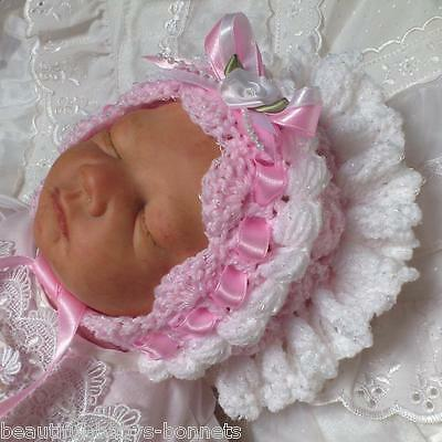 CROCHET PATTERN by Beautiful-Babys-Bonnets to make a Girls Vintage Style Hat #01