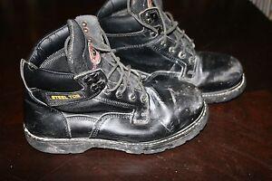 BRAHMA Work Boots STEEL TOE BOOTS Size 9.5W