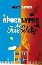 Apocalypse Next Tuesday, Safier, David, New Books