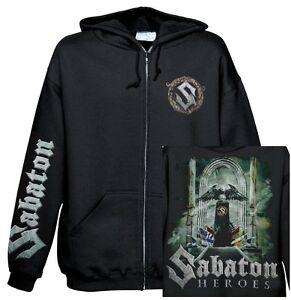 SABATON - Heroes Kapuzenjacke Zipped hoodie