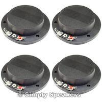 Diaphragm For Eaw Sm155e Horn Driver Premium Ss Audio Speaker Parts 8 Ohm 4 Pack