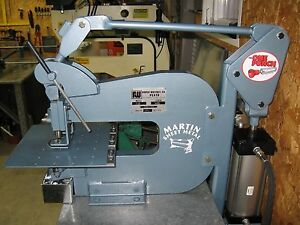 Roper Whitney Pexto 218 Bench Punch Pneumatic Conversion