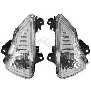 Front Turn Signals Blinker Light Lamp Indicator Cover Guard For KAWASAKI ER6N ER6F 2009-2011 Black