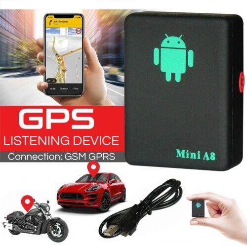 Mini GSM GPS Tracker Auto Locateur Traceur Véhicule Magnétique temps réel A8