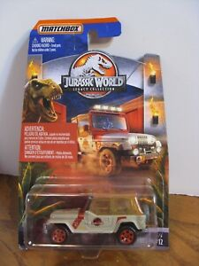 Details about Matchbox Jurassic World Legacy Collection - '93 Jeep Wrangler  #12
