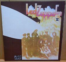 LED ZEPPELIN II OG UK STEREO PLUM / ORANGE ATLANTIC RECORDS LP 588198 A2/B2