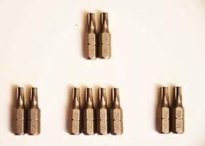 1-50-Stueck-TORX-Bits-1-4-034-x-25-mm-TX-T15-20-25-Bit-Profi-Qualitaet