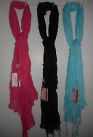 Women's Tickled Pink Fashion Scarf Shawl Wrap 73x34 Various Colors
