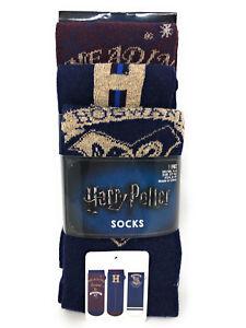 3-Paar-Harry-Potter-Damen-Socken-Hogwarts-Struempfe-Set-37-38-39-40-41-42-Primark