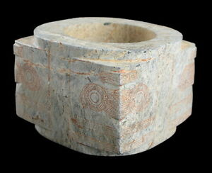 ANCIENT-CHINESE-CALCIFIED-JADE-CONG-LIANGZHU-CULTURE