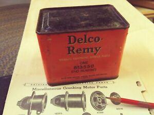 Nos Vtg Delco Remy 1927 42 Gm Auburn Chevrolet Starter End Plate Bearing Mack Ebay