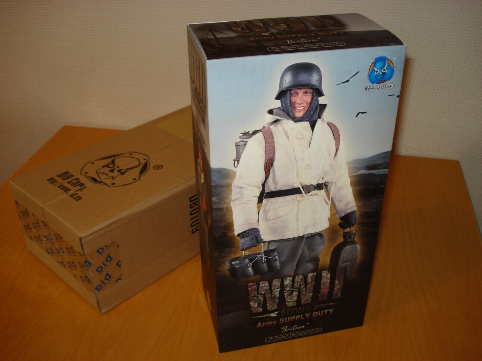 "►DID Corp. German WWII Army Supply Duty Versorgungsoffizier ""Bastian""◄"