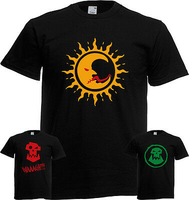 night goblins fanatic wolf chariot forest goblin spider riders Gamer T Shirt