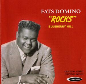FATS-DOMINO-ROCKS-Blueberry-Hill-Original-CD-2012-Vintage-Rock-Legends-SEALED