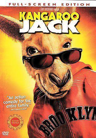 Kangaroo Jack DVD, 2003, Full Frame  - $0.99