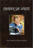 Murder She Wrote Complete 1st First Season 1 One Brand 6-disc Dvd Set