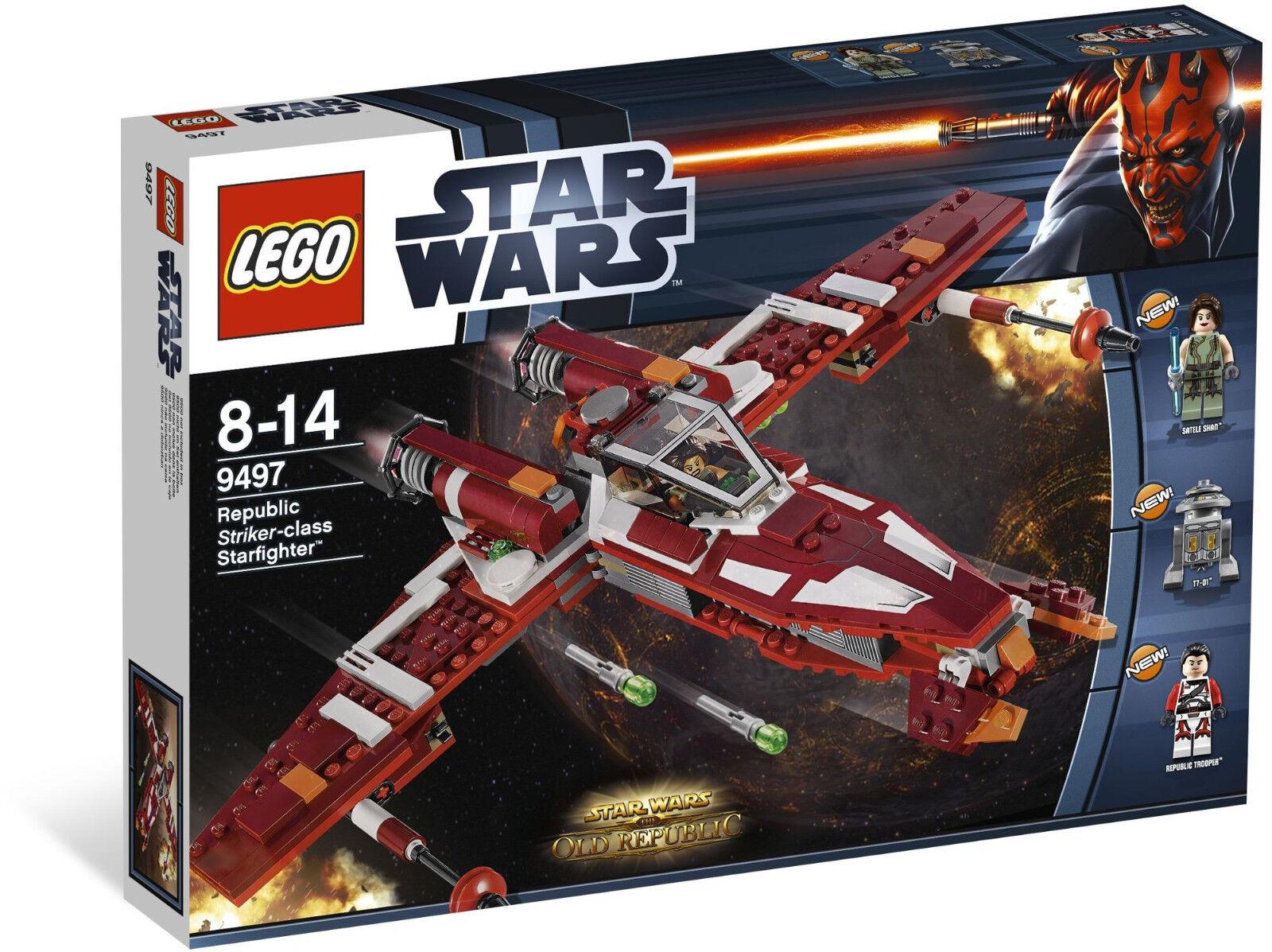 LEGO Star Wars 9497 Republic Striker-class Starfighter, NEW Discontinued 2012