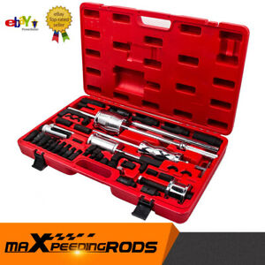 40PCS Diesel Injector Puller Extractor Remover Workshop Hand Tool Set For VW BMW